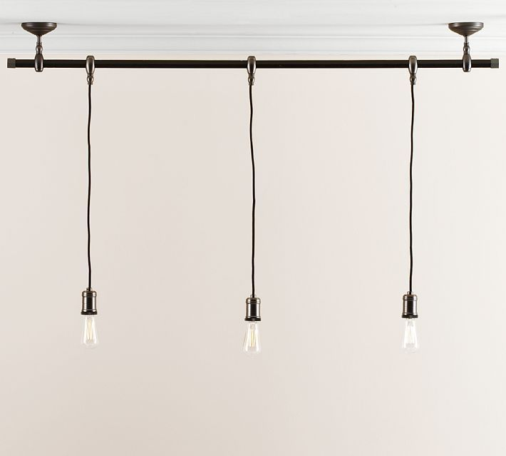 Neat Perhaps With Edison Bulbs Exposed Bulb Pendant Track