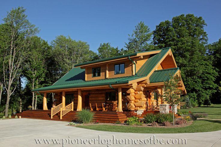 Красивые деревянные дома из бревен, срубы: Самые красивые дома