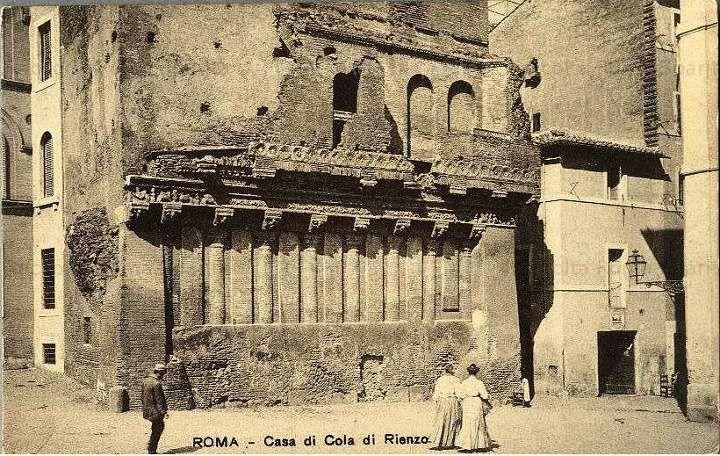 Casa dei Crescenzi Anno: 1885 circa