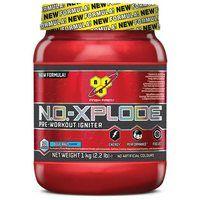 n 2004 introduceerde BSN No Xplode, het eerste volledige pre-workout supplement. Nu is er N.O.-XPLODE® 3.0, de nieuwe No Xplode! Nog harder, nog sterker en nog agressiever! N.O.-XPLODE® 3.0 is de pre-workout waar je nooit meer zonder wilt. De feiten: maar liefst 75% van de testpersonen vindt N.O.-XPLODE® 3.0 de ultieme pre-workout voor energie, uithouding en pomps. Probeer N.O.-XPLODE® 3.0 Nu en ervaar het zelf!