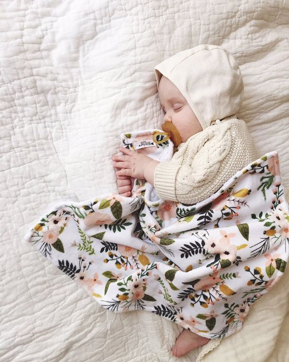 I am SO excited to be able to offer our popular Snuggle blankets now in DOUBLE MINKY. Not only is it backed in white minky dots but the patterned