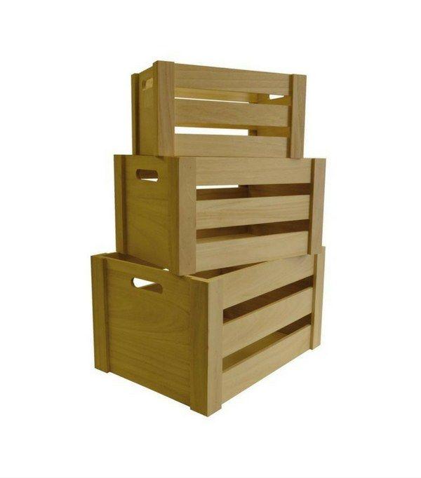 1000 id es sur le th me cagette bois sur pinterest - Ou trouver des caisses en bois ...
