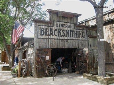 Knott S Berry Farm Blacksmith Shop Buena Park Ca