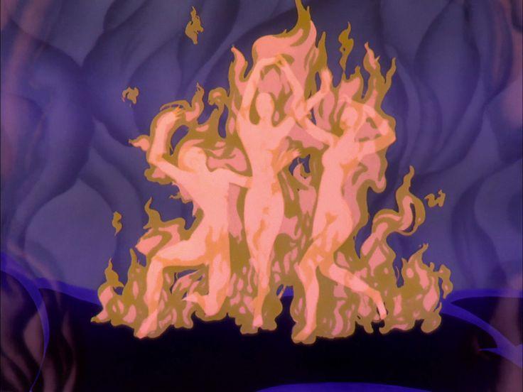 Fantasia - Chernabog's Fire Dancers