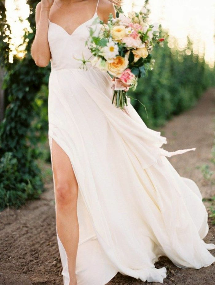 Vestidos de novia sencillos casuales