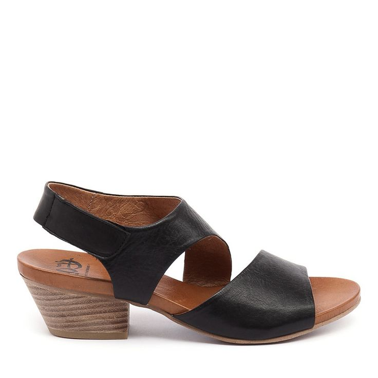 Featuring a foot-flattering upper, Cuba is handmade in Portugal using the finest quality leather sourced from Italy. It comes with a heel height you'll find comfortable all day and a Velcro fastening ankle strap for quick, easy wear. Heel height: 5.5cm. Made in Portugal.