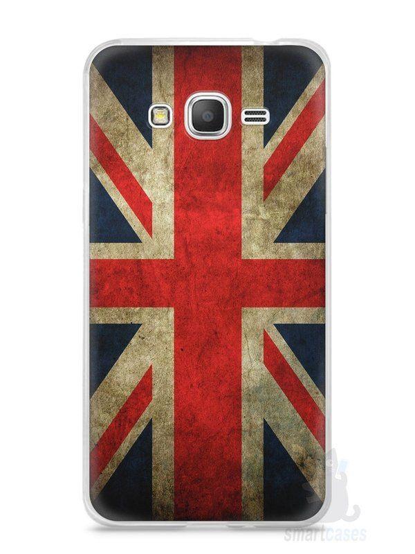 Capa Samsung Gran Prime Bandeira da Inglaterra - SmartCases - Acessórios para celulares e tablets :)