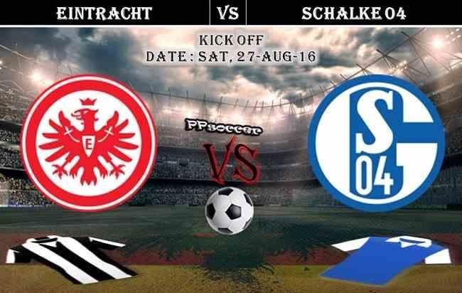 Eintracht Frankfurt vs Schalke 04 - 27.08.2016 Free Soccer Predictions, H2H…