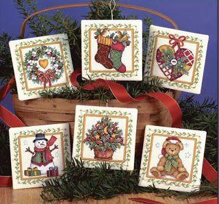 Merry Christmas: SET VERY CUTE Free patterns
