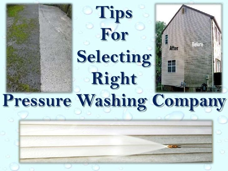 Tips for selecting right pressure washing company Learn More at: http://pressurewashersconnect.com/