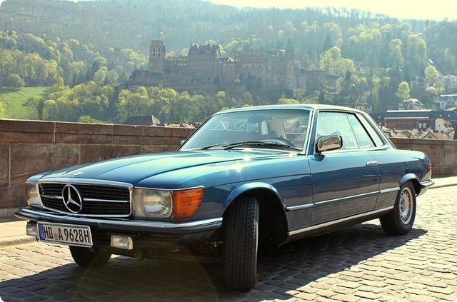 Oldtimer-Vermietung-Heidelberg aktuell haben wir für Selbstfahrer einen Mercedes SL Coupé 280 im Angebot! www.oldtimer-heidelberg.com