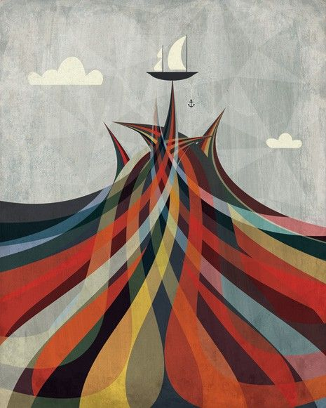 : Artists, Sea Art, Colors, Andrew Banneck, Ships, Sailing Away, The Waves, The Sea, Sailing Boats