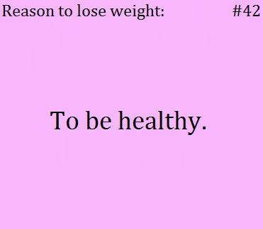 reasons to lose weight anatomy