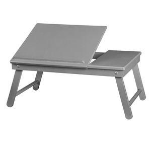 Support pour ordinateur portable - 55 x 35 x 25 cm - Gris - 14,99€