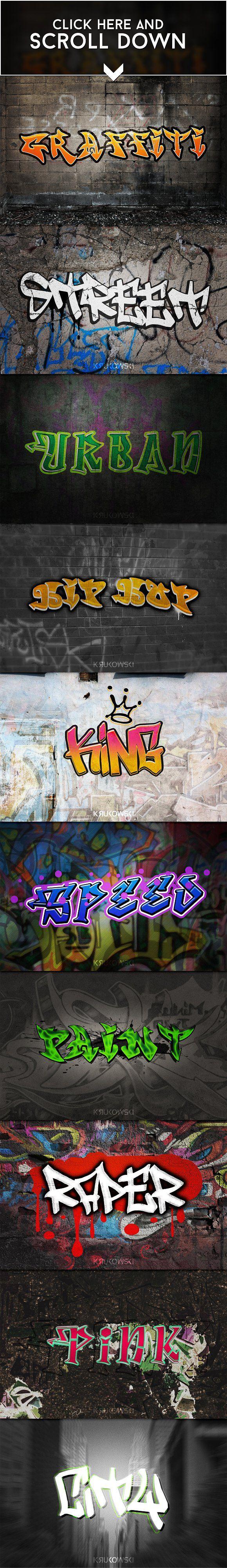 Graffiti Text Effects - Add-Ons