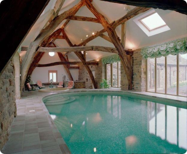 100+ Amazing Small Indoor Swimming Pool Design Ideas