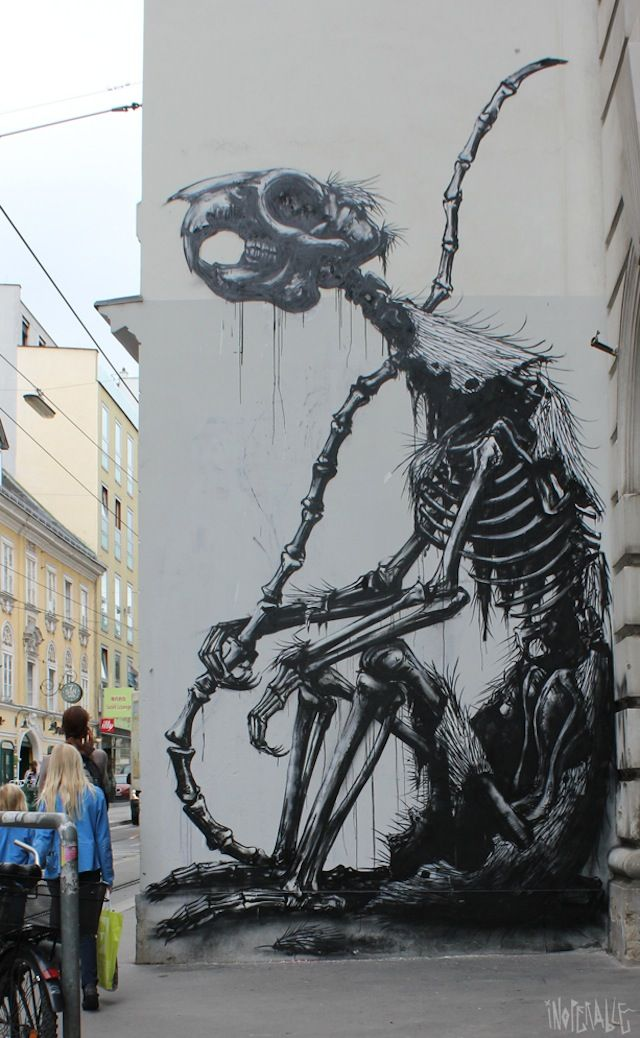 This tickles my dark side.... Needless to say, I'm in a street art mood today :P