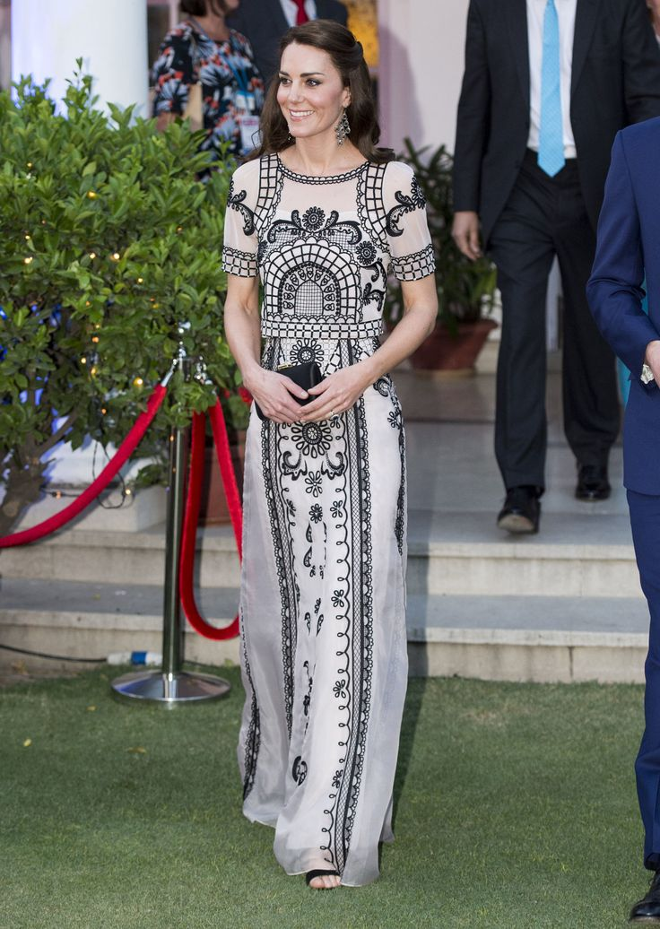 April   NEW DELHI, INDIA - APRIL 11:  Catherine, Duchess of Cambridge attends a Garden party celebrating the Queen's 90th birthday on April 11, 2016 in New Delhi, India.  (Photo by Mark Cuthbert/UK Press via Getty Images) via @AOL_Lifestyle Read more: https://www.aol.com/article/entertainment/2017/03/29/britney-spears-boyfriend-photo/22017297/?a_dgi=aolshare_pinterest#fullscreen