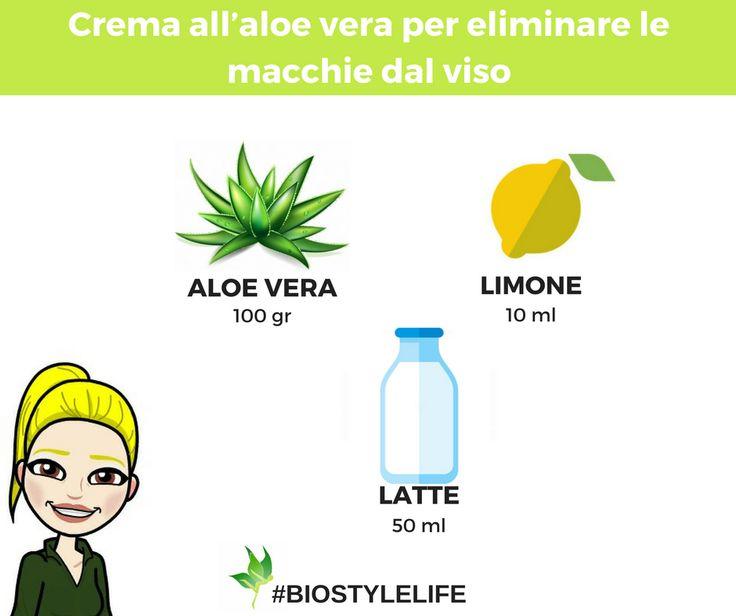Ingredienti   ½ bicchiere di aloe vera (100 gr)   ¼bicchiere di latte (50 ml)   1 cucchiaio di succo di limone (10 ml)   Procedimento   L...