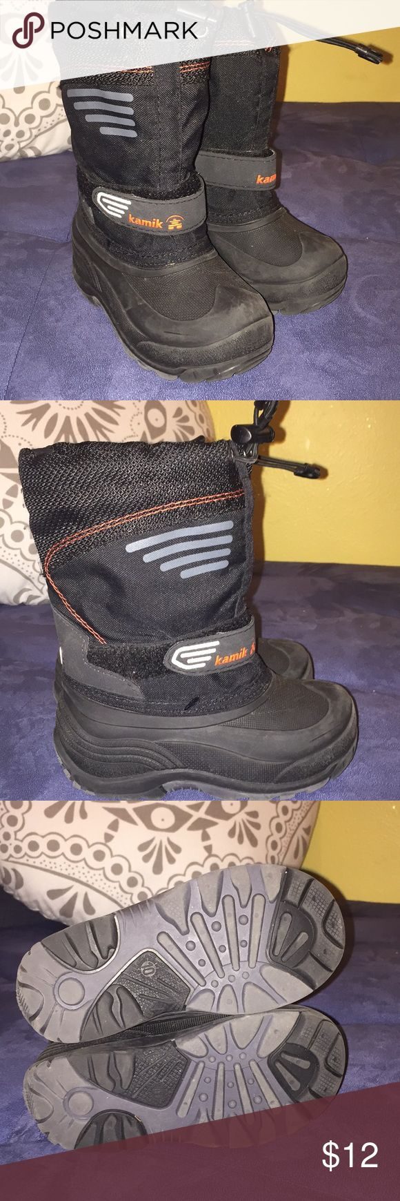 Kamik boys snow boot 10 Still in great condition Kamik Shoes Rain & Snow Boots