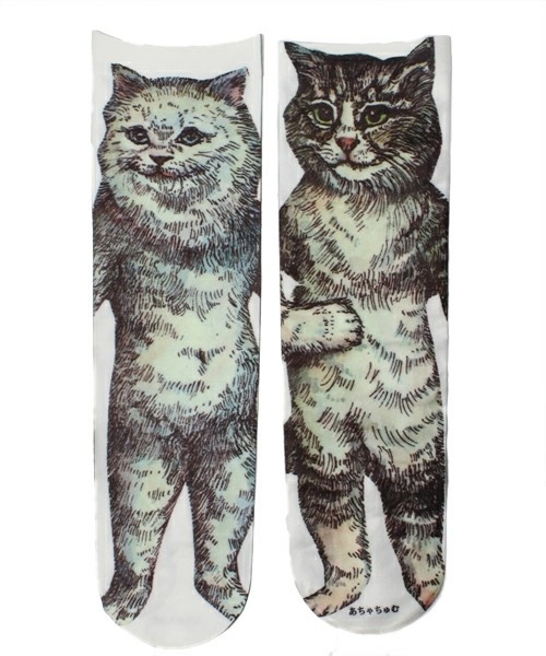 Achamu Cat socks あちゃちゅむネコソックス