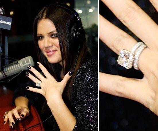Pin for Later: Die schönsten Eheringe der Stars Khloe Kardashian Khloe Kardashian heiratete Lamar Odom im September 2009. Die beiden waren gerade einmal seit einem Monat in einer Beziehung.