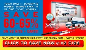 This V2 cigs review can shed few lights on various aspects of e cigs. Our V2 cigs review would tell you certain facts and figures that helped the brand to gain the top position in its niche market.