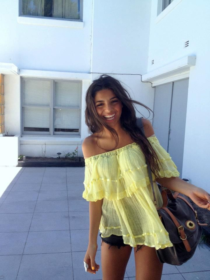 summery shirtSummer Shirts, Summer Outfit, Clothing, Summer Style, Yellow Tops, Spring Summe, Summertime Fashion, Summer Tops, Dreams Closets