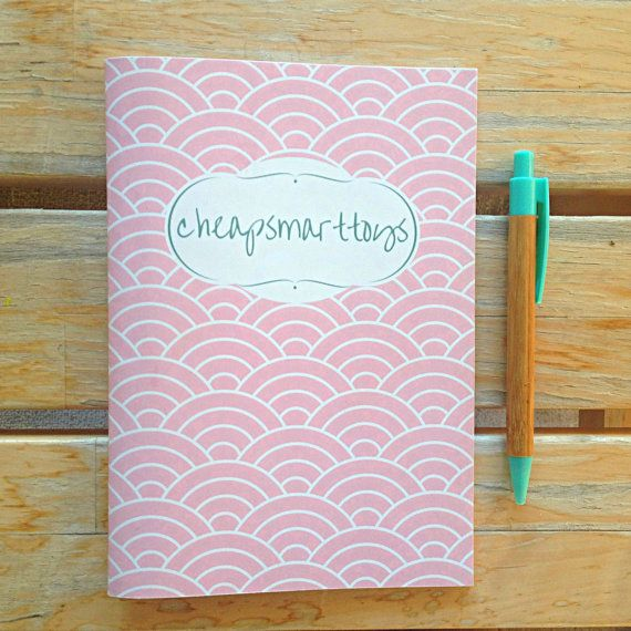 Vintage handmade notebooks Personalized by cheapsmarttoys on Etsy