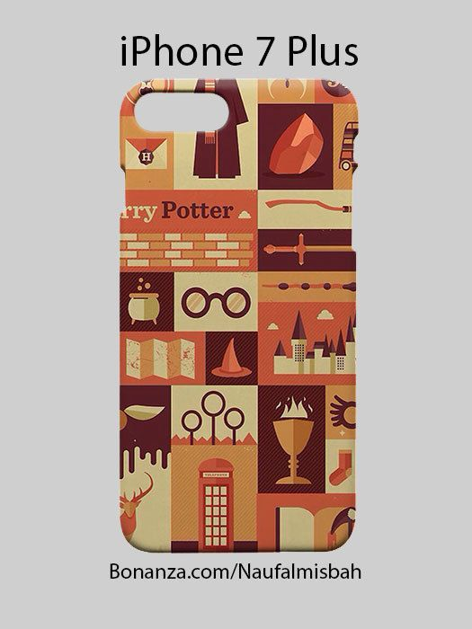 Harry Potter Collage iPhone 7 PLUS Case Cover Wrap Around
