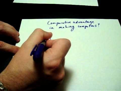 Comparative Advantage; How to Calculate it. Economics, AP Microeconomics