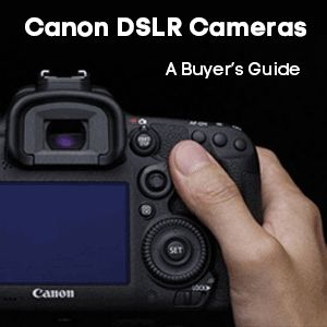 We review and compare the features of ALL Canon's DSLR cameras, to allow you to make the decision on which cameras is right for you.