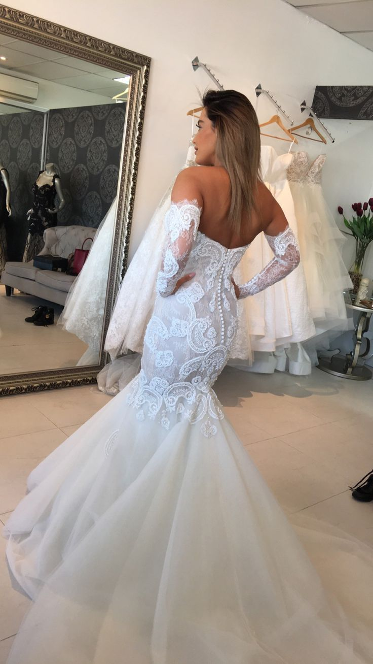 Fishtail Wedding Dresses Second Hand : Norma bridal couture custom made size wedding dress dresses