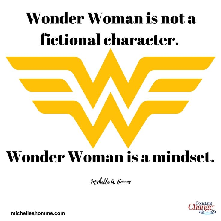 Positive Quotes For Women: 25+ Best Wonder Woman Quotes On Pinterest