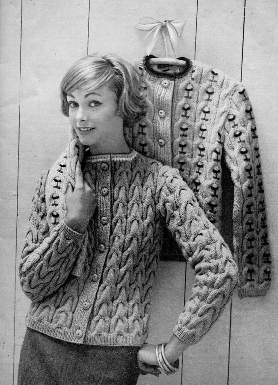 The 1258 best 1960\'s knitting and crochet images on Pinterest | Knit ...