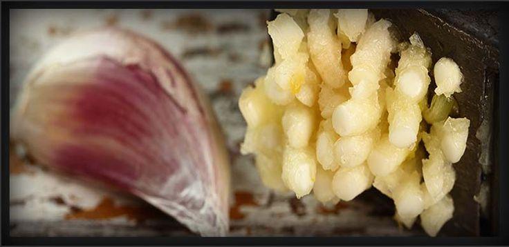 Crushed Garlic  http://www.garlicshaker.com/crushed-garlic/