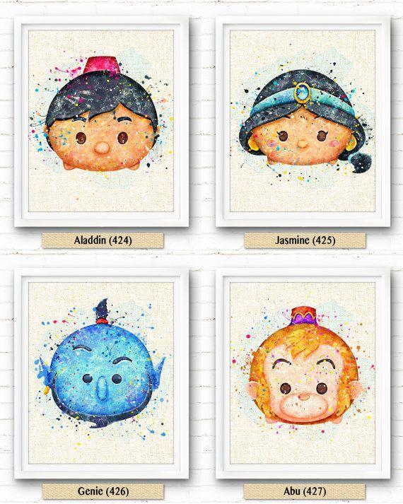 Disney Prints Disney Aladdin Abu Poster Disney par NeighborArts
