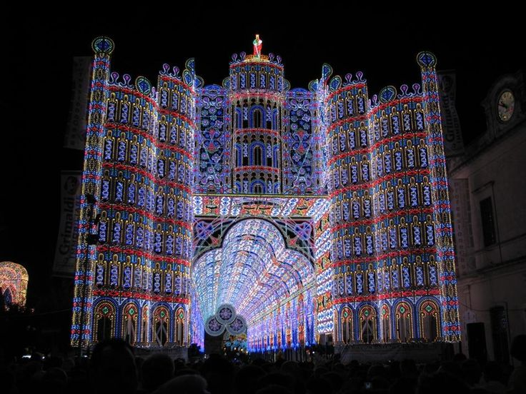 17 best images about la mia terra on pinterest italy for Luminarie puglia