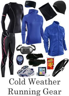 Cold weather running gear or money to go buy the gear