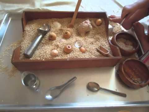 Some good invitation trays and spaces. Reggio Emilia Approach, ABC Playcenter - YouTube