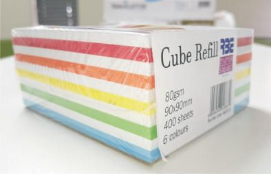 Rainbow Cube Refill Side swatch