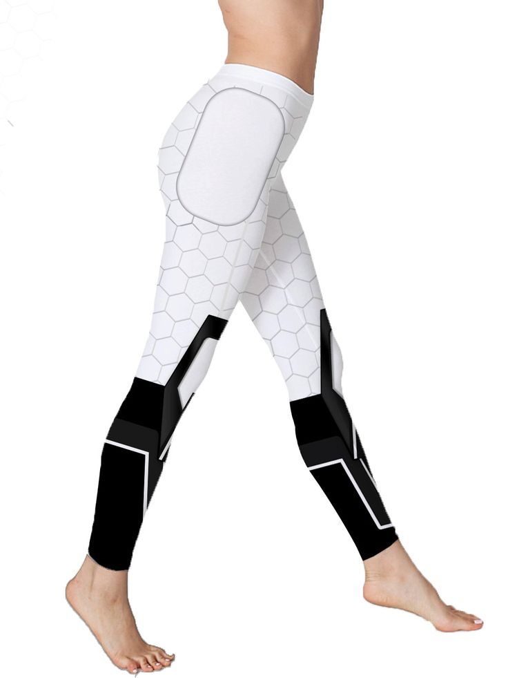 These Miranda/Mass Effect inspired leggings are our favorite on the Citadel.