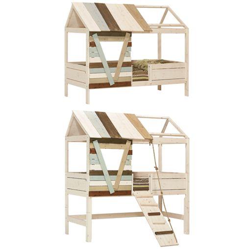 17 meilleures id es propos de lit mi hauteur sur pinterest doubles lits en hauteur mobilier. Black Bedroom Furniture Sets. Home Design Ideas