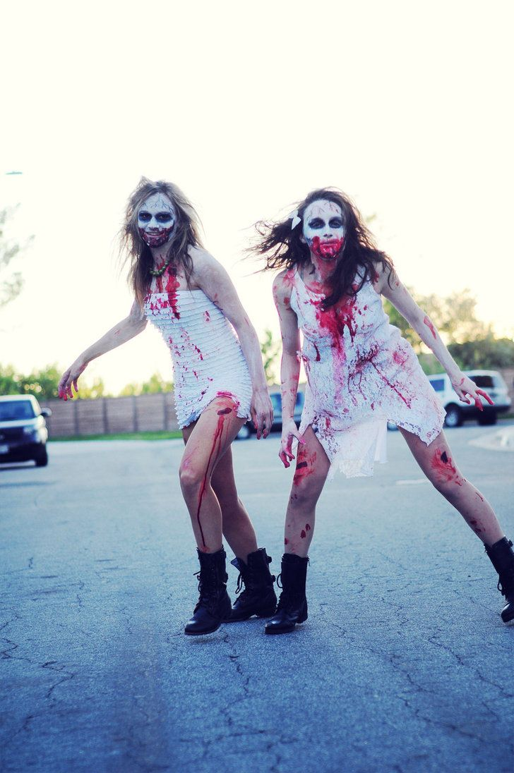 zombie halloween costume makeup