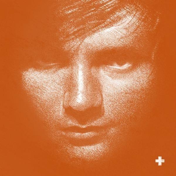 Ed Sheeran Plus limited edition orange vinyl LP new and sealed