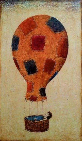 Obraz Ryszarda Chmiela pt. Talon na balon