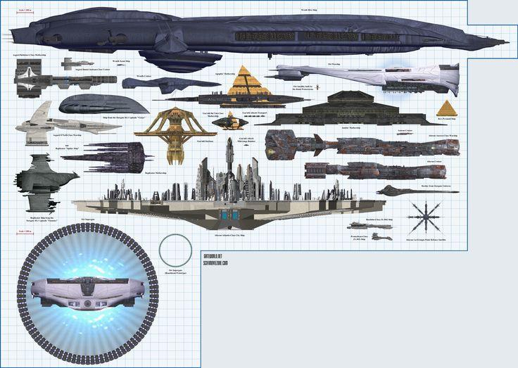 Souvent 231 besten Stargate Bilder auf Pinterest | Raumschiffe, Cinema 4D  SL31