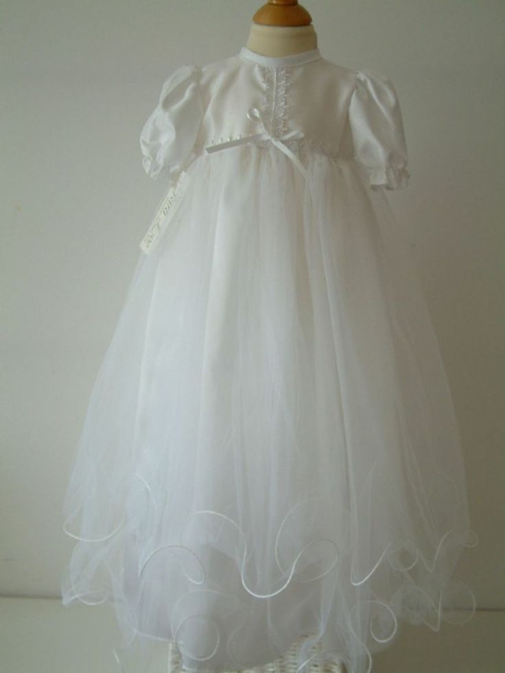 This is a beautiful but simple Christening Gown by Tara