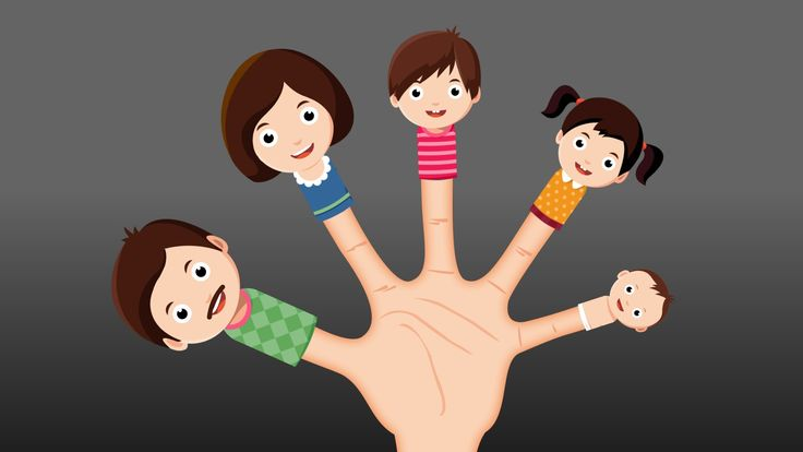 The Finger Family Nursery Rhyme | Kids Finger Family Animation Rhymes Songs