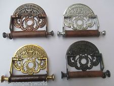Vintage Antique old style Traditional Toilet Loo Roll Holder wall mounted